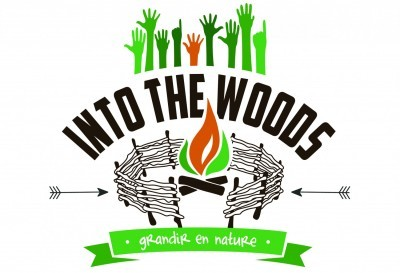 logo into the wood forest school